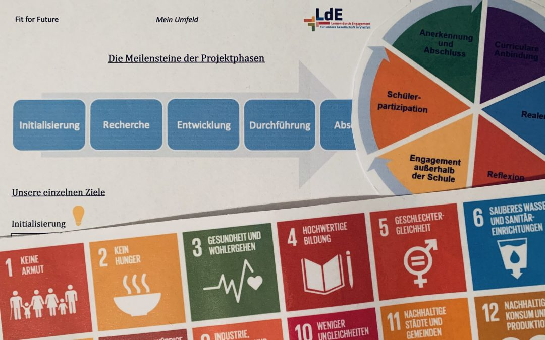 "Fortbildungsreihe WPU I ""Lernen durch Engagement – Fit for Future"""